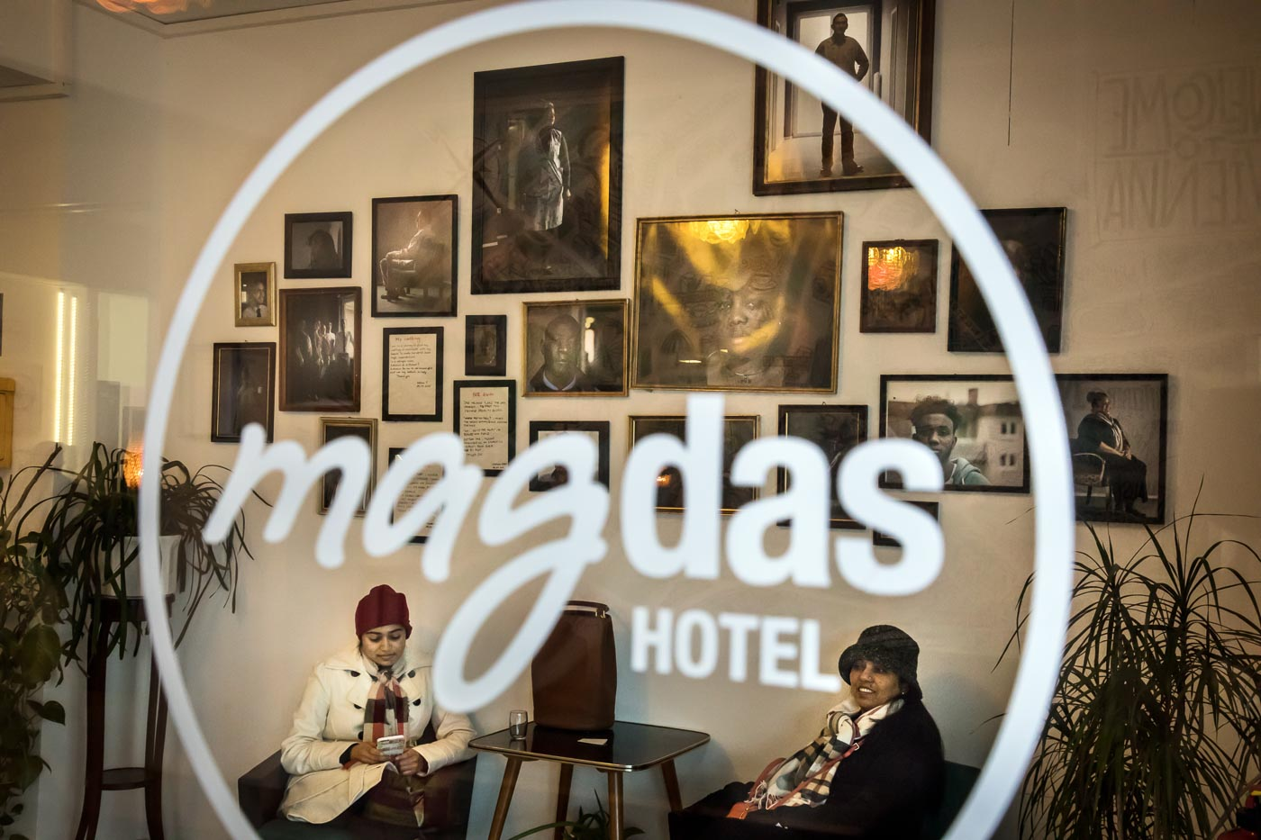 AUSTRIA. Refugees welcome globetrotters to Vienna's open-minded hotel.